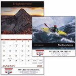 Buy Stapled Motivations Inspirational Appointment Calendar