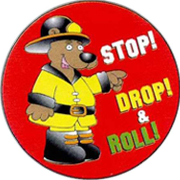 Main Product Image for Stop, Drop and Roll Sticker Rolls