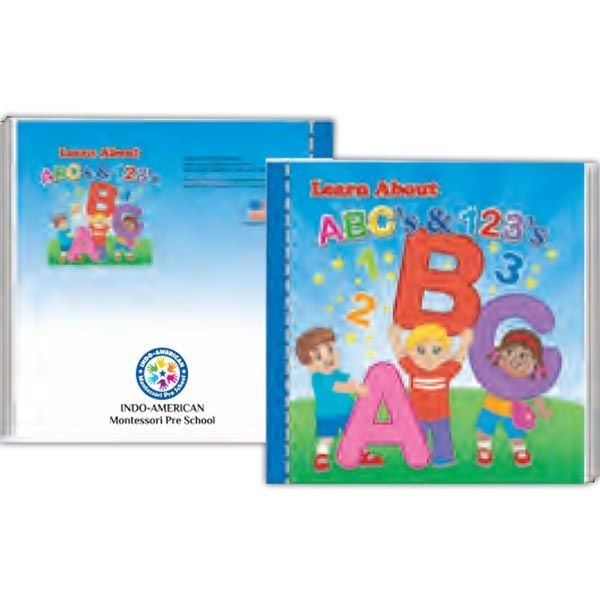 Main Product Image for Storybook - Learn About ABCs & 123s