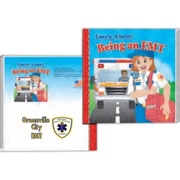 Main Product Image for Storybook - Learn About Being an EMT