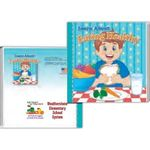 Storybook - Learn About Eating Healthy - Multi Color