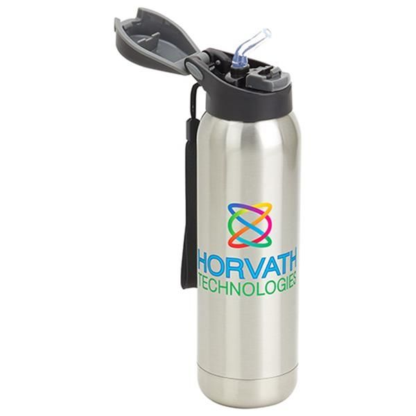 Main Product Image for Stratford 17 oz Pop-Top Vacuum Insulated Stainless Steel Bot