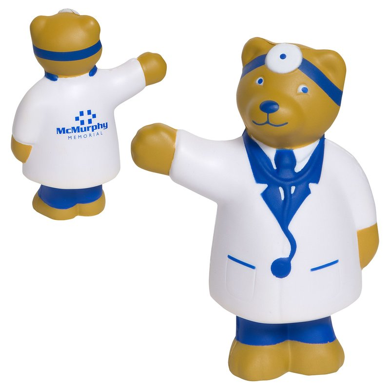Main Product Image for Stress Reliever Doctor Bear