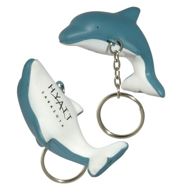 Main Product Image for Stress Reliever Dolphin Key Chain