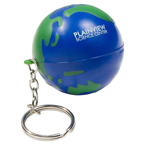 Main Product Image for Stress Reliever Key Chain - Earth