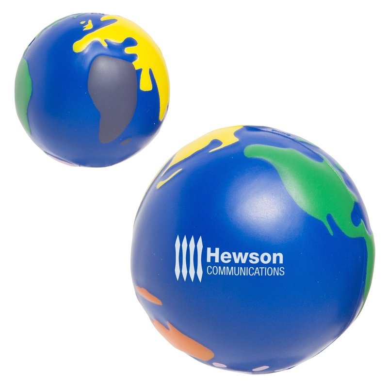 Main Product Image for Stress Reliever Ball - Multicolored Earth
