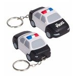 Buy Custom Imprinted Stress Reliever Police Car Key Chain