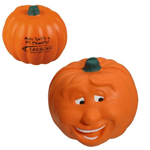 Main Product Image for Stress Reliever Pumpkin - Smile