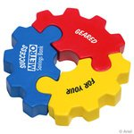 Buy Stress Reliever Gear 3 Piece Puzzle Set