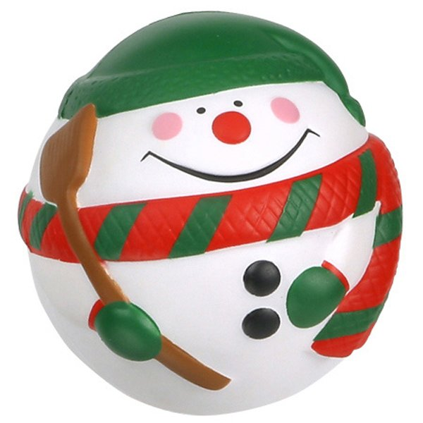Main Product Image for Stress Reliever Ball Snowman