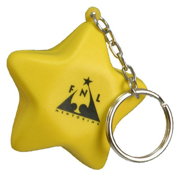 Main Product Image for Stress Reliever Key Chain - Star