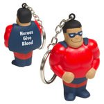 Buy Stress Reliever Super Hero Key Chain