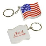Buy Custom Imprinted Stress Reliever Key Chain US Flag