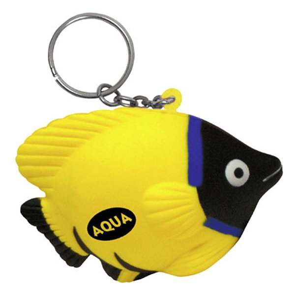 Main Product Image for Stress Reliever Key Chain - Tropical Fish