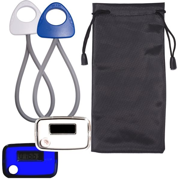 Main Product Image for Stride Pedometer & Stretch Band in a Pouch