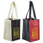 Buy Custom Imprinted Wine Bag Sun Shower 4-Bottle Capacity