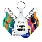 Tab Flexible Key Tag -
