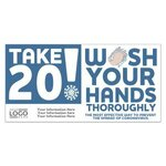 Buy Take 20! Wash Your Hands Stickers - Imprinted