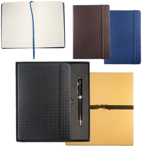 Main Product Image for Textured Tuscany (TM) Journal & Executive Stylus Pen Set