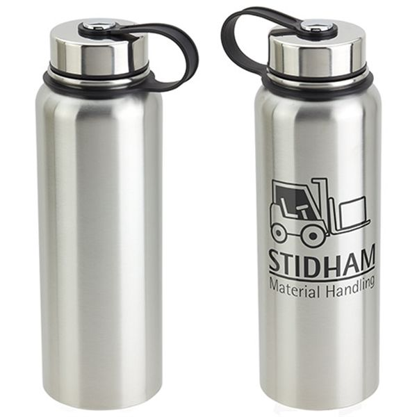 Main Product Image for Thirst-Be-Gone 32 oz Insulated Stainless Steel Bottle