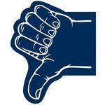 Thumb Foam Hand - Navy