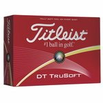 Buy Custom Titleist Golf Balls DT TruSoft White Std Serv