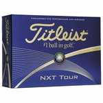 Buy Custom Titleist NXT Tour Golf Balls Std Serv