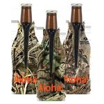 Buy Trademarked Camo Zippered Bottle Coolie