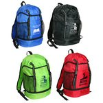 Buy Custom Imprinted Drawstring Backpack Trail Loop Pack