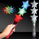 Buy Light Up Wand - Triple Star LED Glow