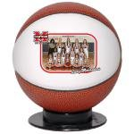 Buy Mini Basketball With Full Color Logo Or Photograph
