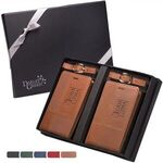 Tuscany(TM) Duo-Textured Luggage Tags Gift Set -