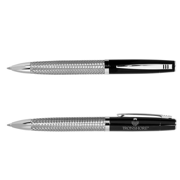 Main Product Image for Twist Action Ballpoint Pen w/ Woven Steel Barrel