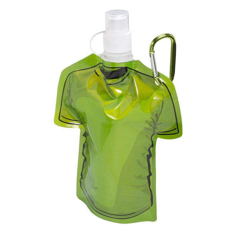 Main Product Image for Water Bottle Collapsible T-Shirt Shaped 16 oz