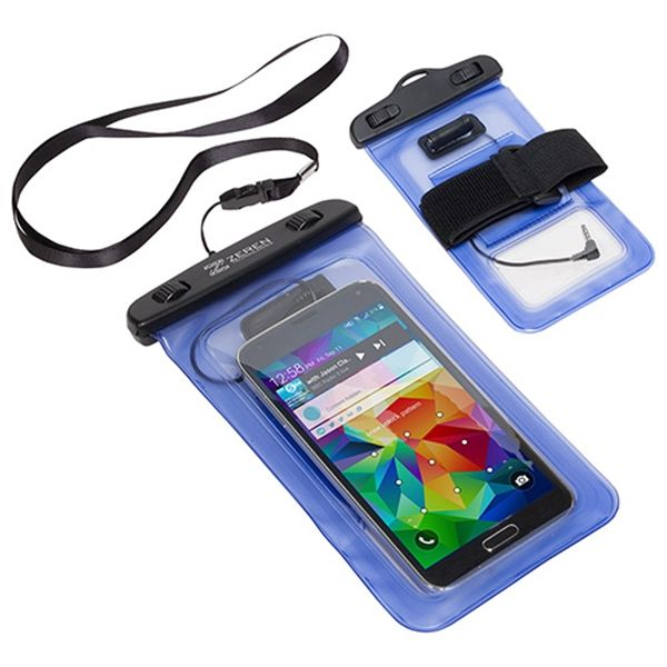 Main Product Image for Waterproof Smart Phone Case with 3.5mm Audio Jack