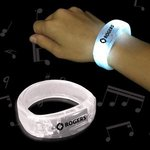 Buy White Soundsation Light Up Glow LED Bangle Bracelet