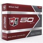 Buy Wilson 50 Elite Custom Logo Golf Balls
