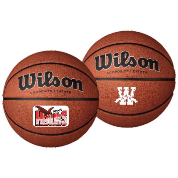 Main Product Image for Wilson Synthetic Leather Basketball - Full Size
