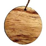 Wood Ornament - Round