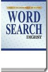 Word Search Digest Puzzle Book - Multi Color