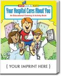 Buy Your Hospital Cares About You Coloring and Activity Book