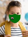 Youth Anti-Bacterial Woven Fabric Face Mask - STAFF PICK -