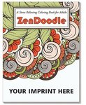 ZenDoodle Stress Relieving Coloring Book for Adults -