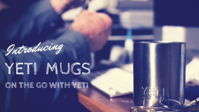 yeti, travel mugs