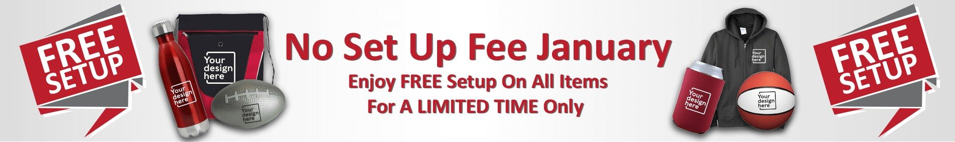 Free Set Up January Banner